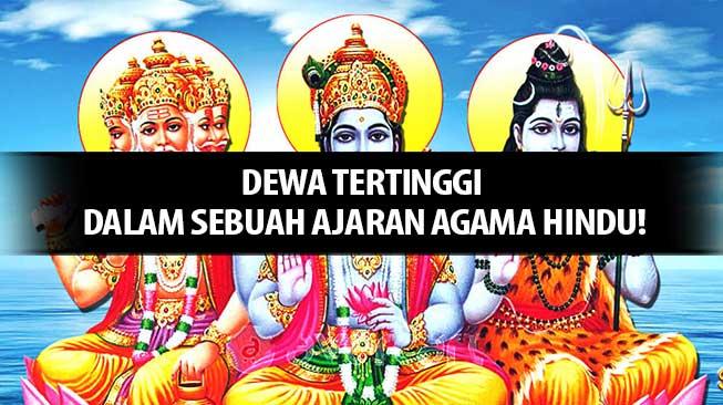 Dewa Tertinggi Agama Hindu