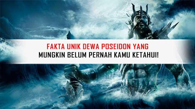 Fakta Unik Dewa Poseidon